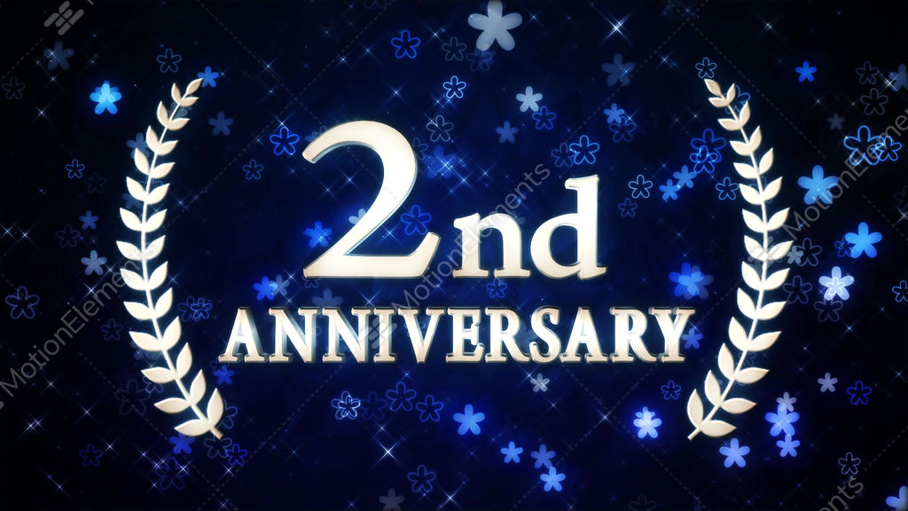 Nd anniversary stock animation