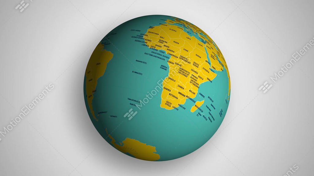 4k spinning earth globe with political world map stock video footage 4k spinning earth globe with political world map stock video footage gumiabroncs Choice Image