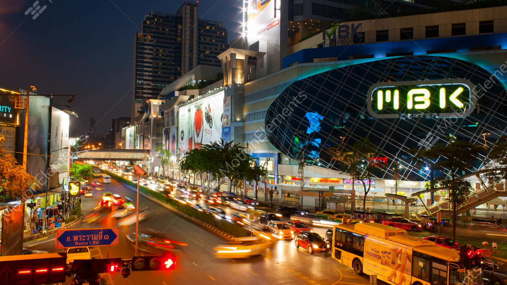 Mbk Center Is A Shopping Mall In Bangkok Stock Video Footage 10596403