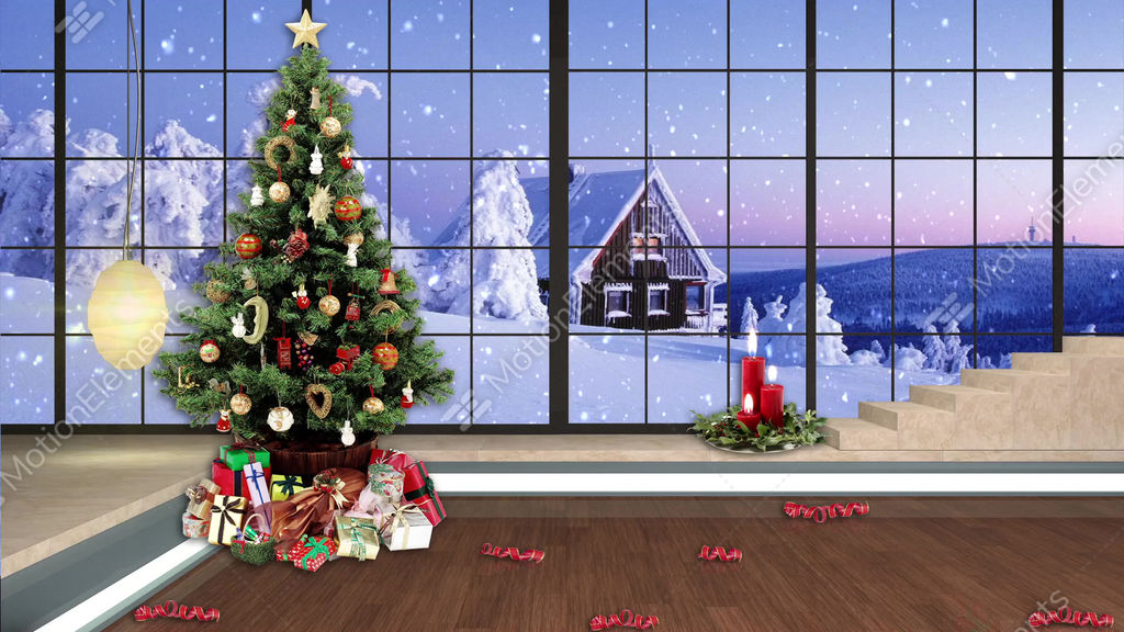 96hd christmas tv virtual studio green screen background xmas tree 96hd christmas tv virtual studio green screen background xmas tree gifts cg 11028347 voltagebd
