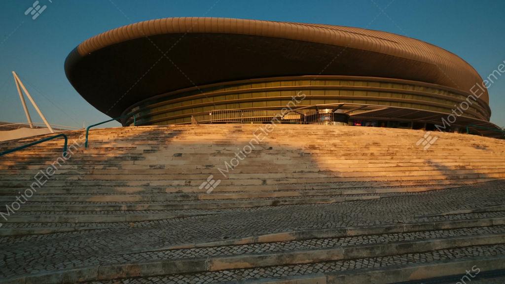 Altice Arena Lisbon Portugal Stock Video Footage 11030294
