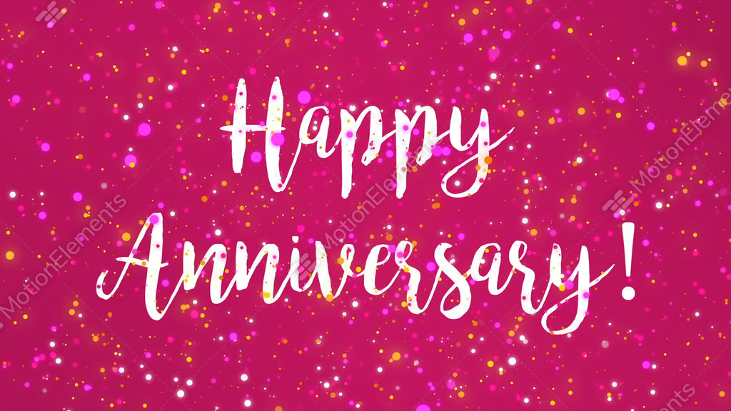 Sparkly pink happy anniversary greeting card video stock animation sparkly pink happy anniversary greeting card video stock animation 11570349 m4hsunfo