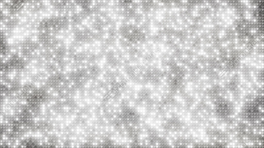 white glitter dots loopable background stock animation