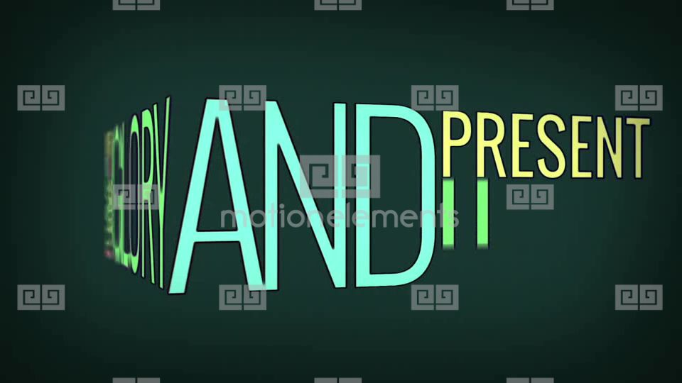 Wow Kinetic Typography After Effects Template Royalty