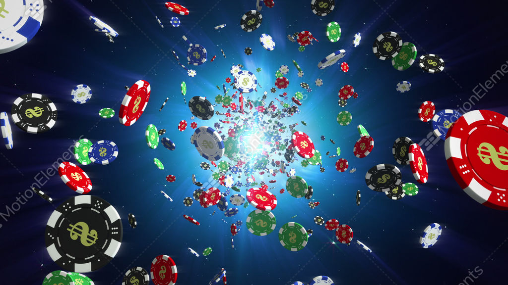 Casino chips loopable background stock animation 9191800 for Asino amiatino