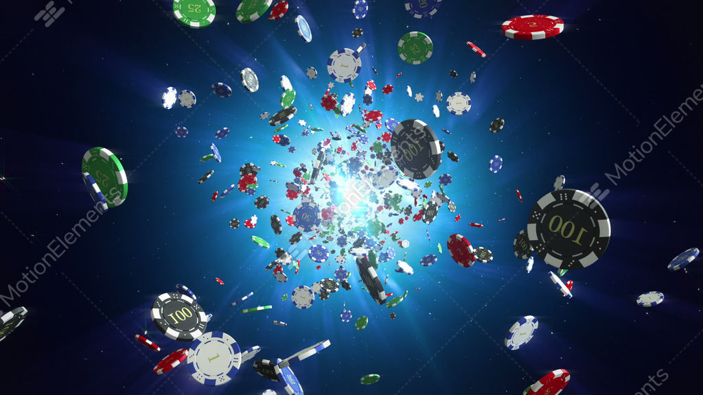 Casino chips loopable background stock animation 9192070 for Asino amiatino