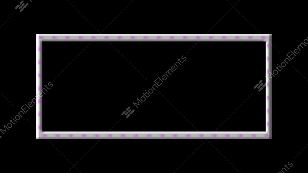 Simple Blinking Board Frame Video Hintergrund | 9378816