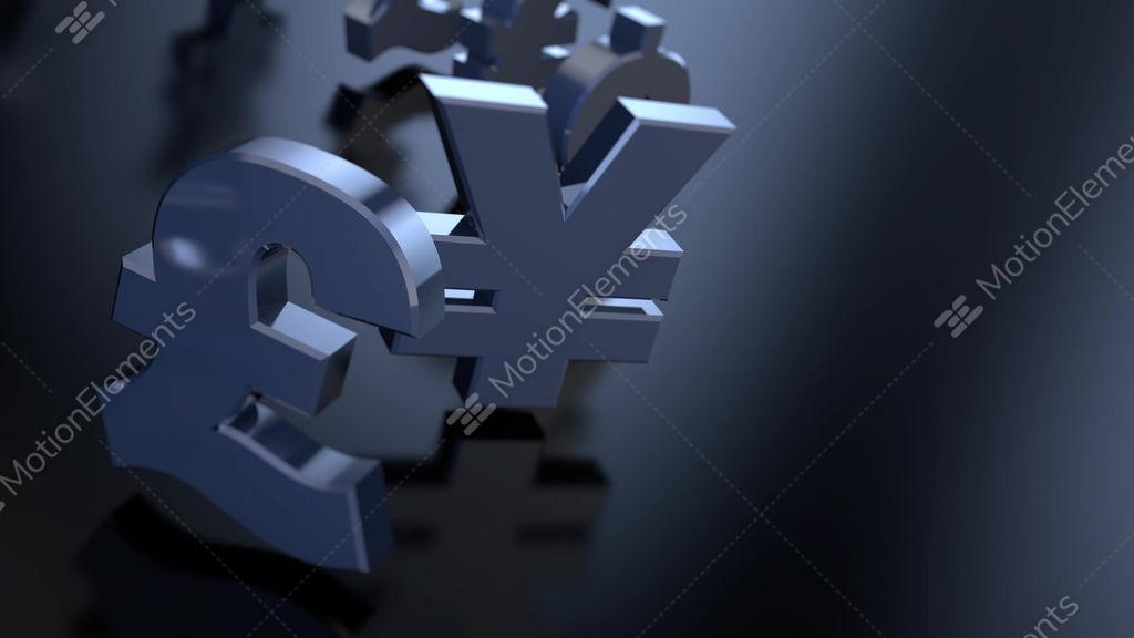4k Money Sign Symbols Stock Animation 9391473