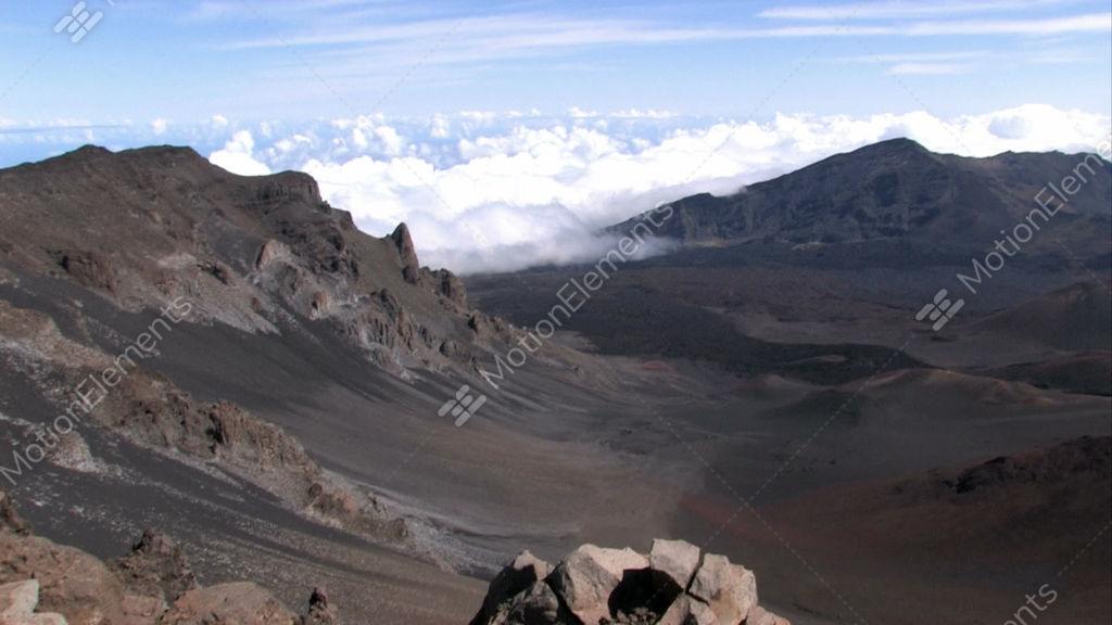 Maui haleakala volcano crater hawaii pan close m hd stock video maui haleakala volcano crater hawaii pan close m hd stock video footage publicscrutiny Gallery