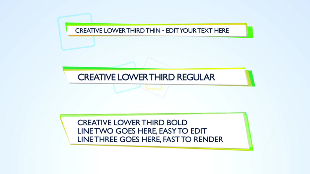 Creative lower third apple motion template royalty for Final cut pro lower thirds templates