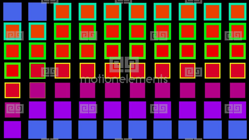 Color square matrix disco light holiday game electronics for 9 square matrix architecture