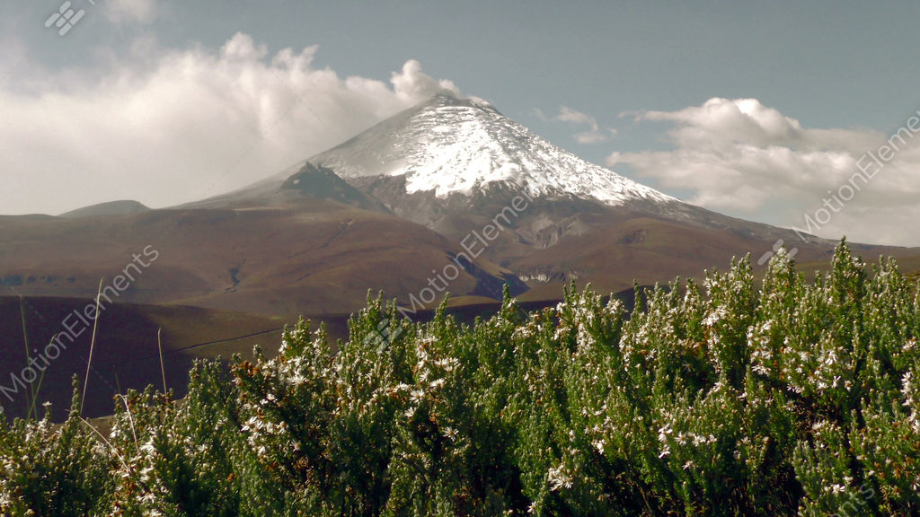 Cotopaxi Volcano Erupting