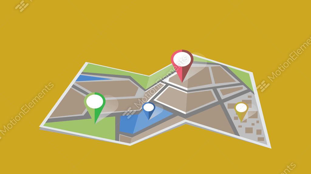 map animation