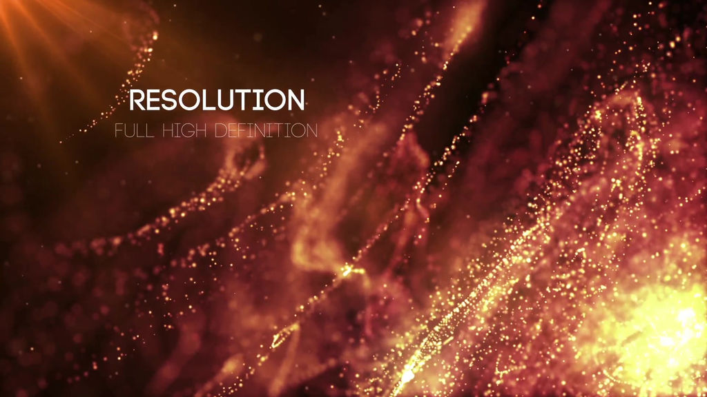 Particles Titles After Effects templates