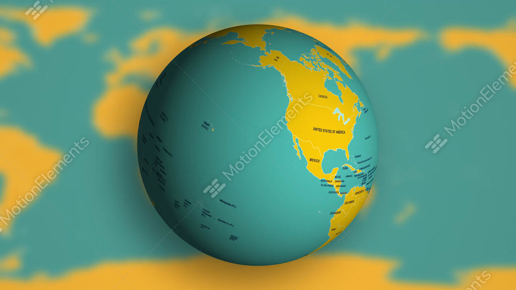 1080p spinning earth globe with political world map stock video 1080p spinning earth globe with political world map stock video footage gumiabroncs Choice Image