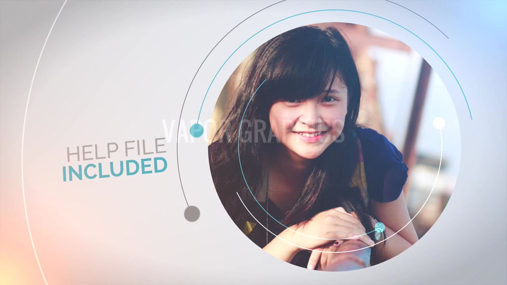 Circle presentation template for apple motion 5 and final for Final cut pro wedding templates