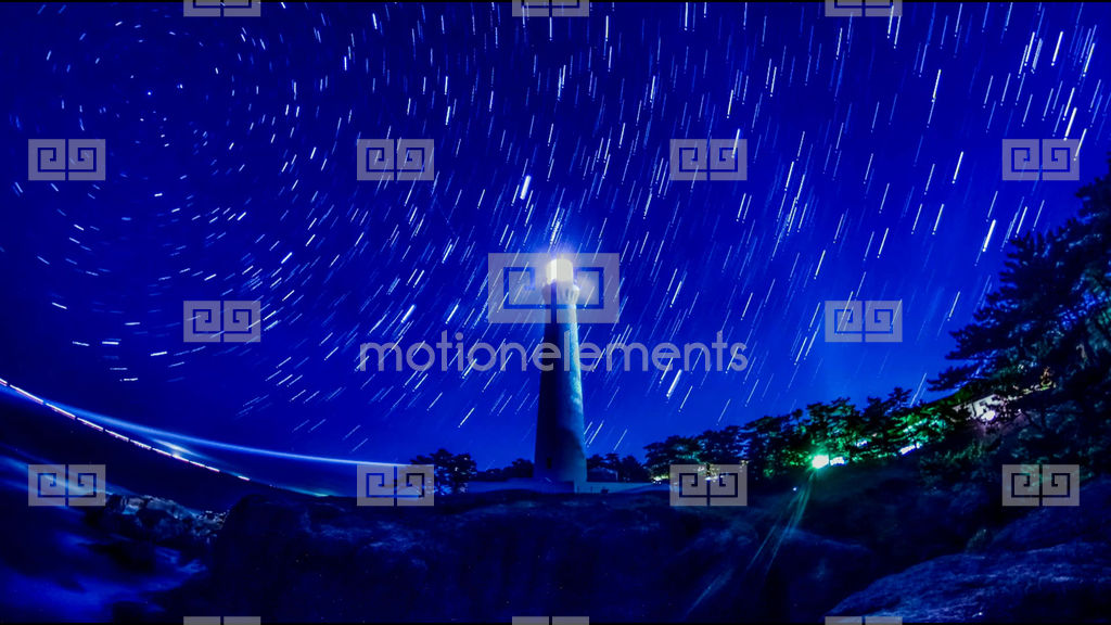 2k Comparison Light Composition Japan National Park Hinomisaki