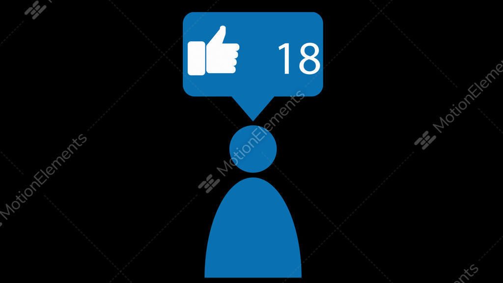 Pictograms For Social Media Business Or Communication Animated