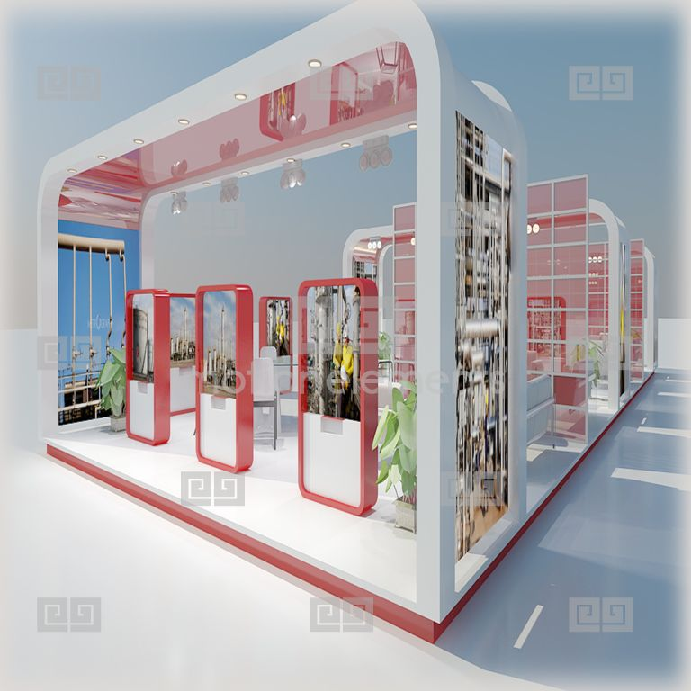 Exhibition Stand Elements : Exhibition stand d models