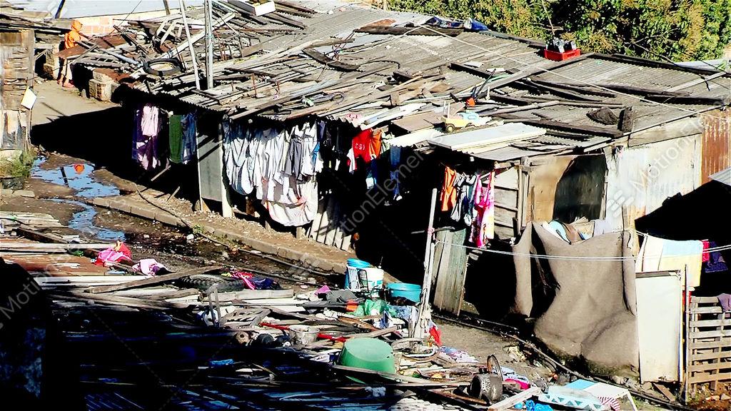 Villa miseria slum in buenos aires argentina stock for Villas miserias en argentina