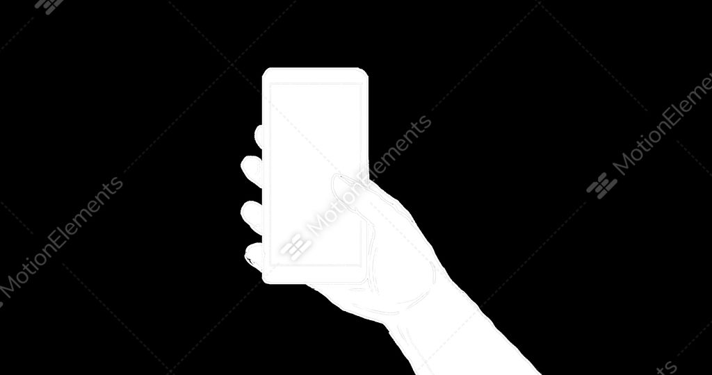 Hand Holding Cell Phone Drawing 2d Animation Stock Animation 11126595