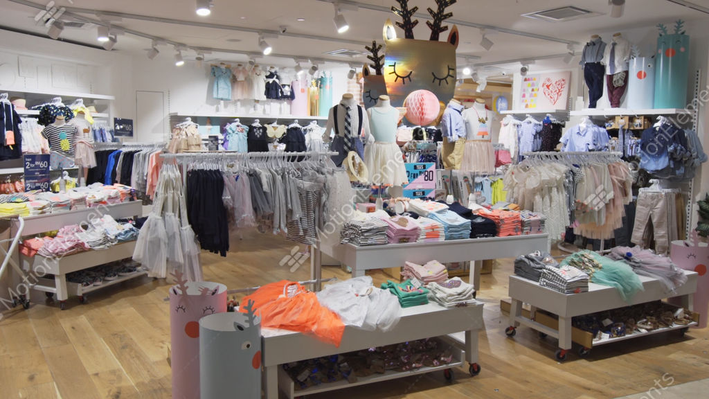 7d68aca6d04 Inside childrens clothing store at Suria KLCC. shopping... Stock Video  Footage