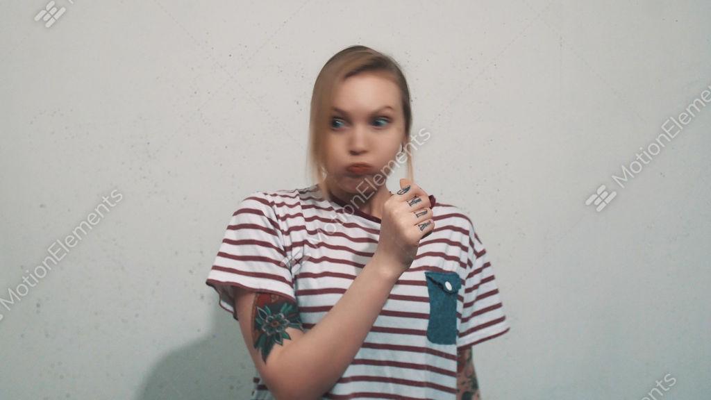 Video blonde Schlag — foto 3