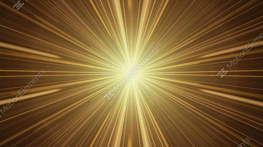 yellow rays of light twinkling light streaks stock