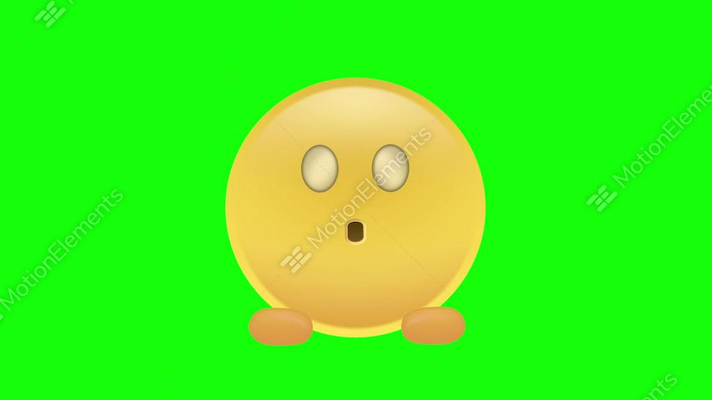 scared emoji stock animation 11642261