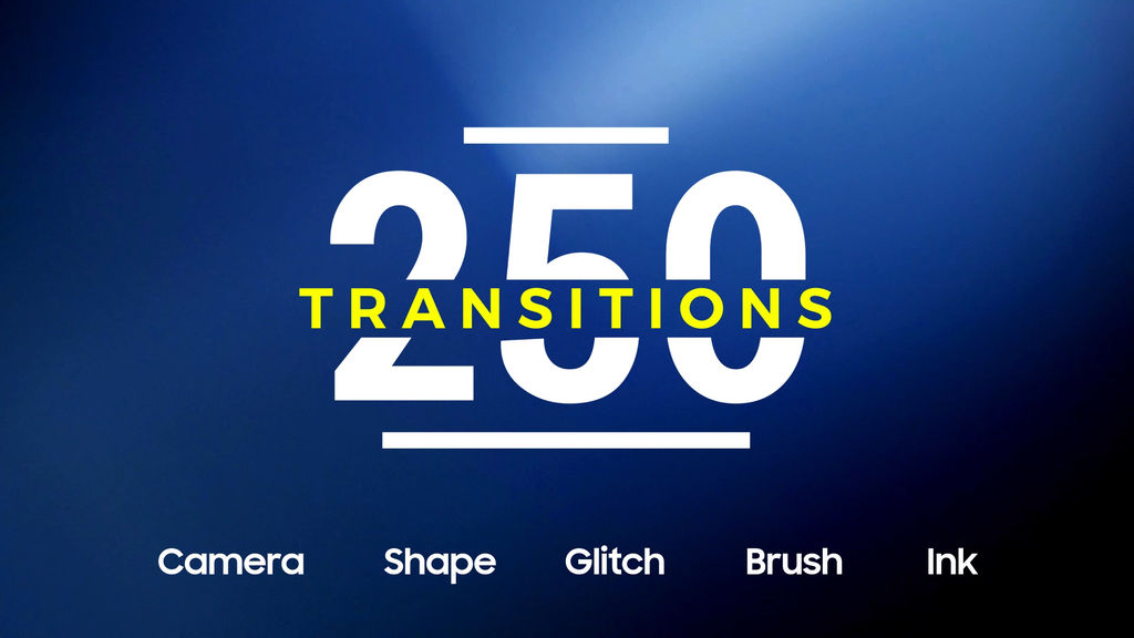 250 Transitions After Effects templates