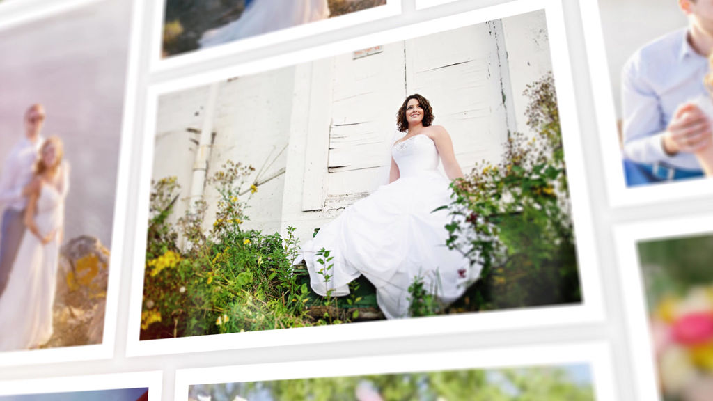 Widding Photo Gallery After Effects templates