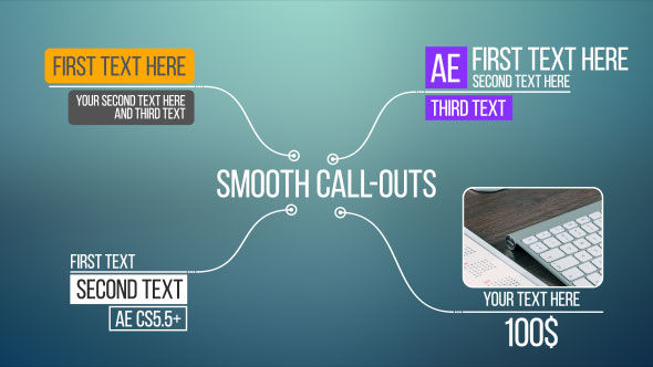 Call-Outs After Effects templates