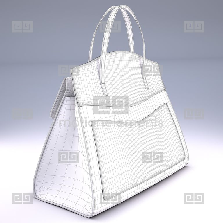71f53f7faea GucciTotem Medium Top Gucci Handle Bag 3D models