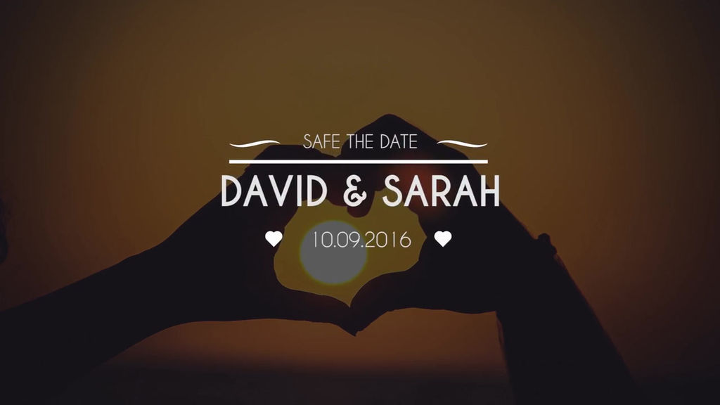 Wedding Titles & Transitions Premiere Pro Template