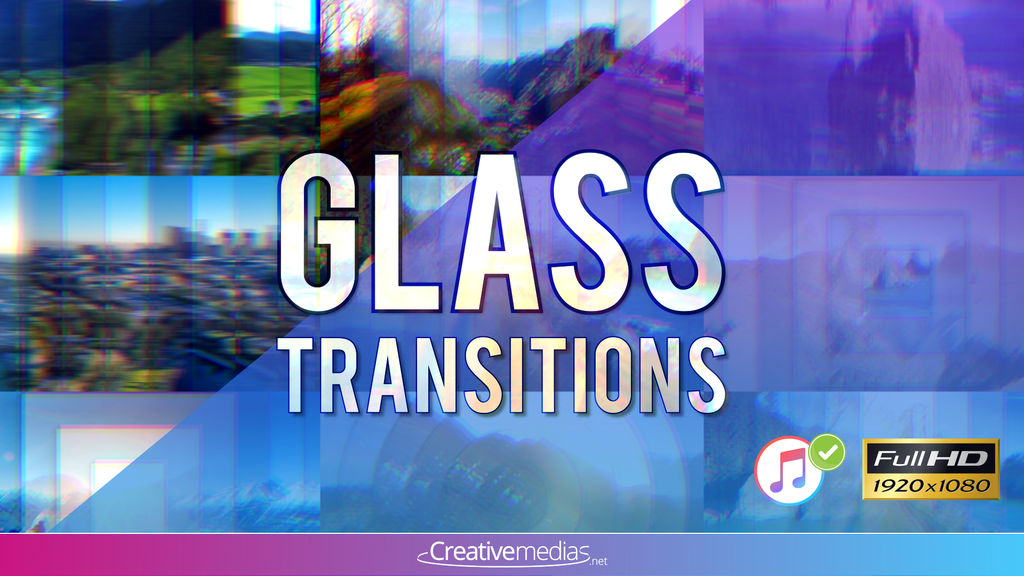 Glass TransitionsGlass Transitions – Apple Motion And Final Cut Pro X Apple Motion templates