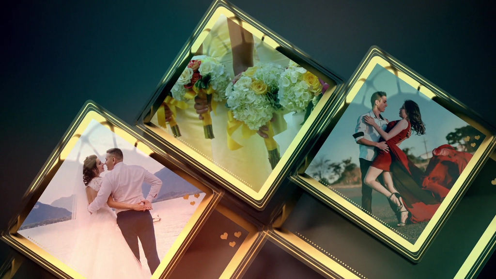 Wedding Slideshow Template After Effect