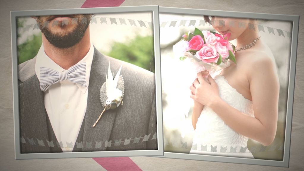 Way To Go Until The Wedding Slideshow After Effects templates