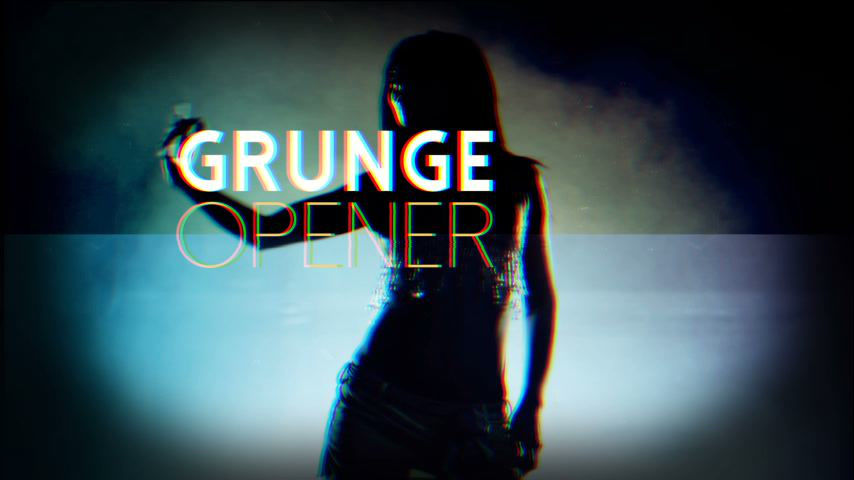 Grunge Film Opener After Effects templates