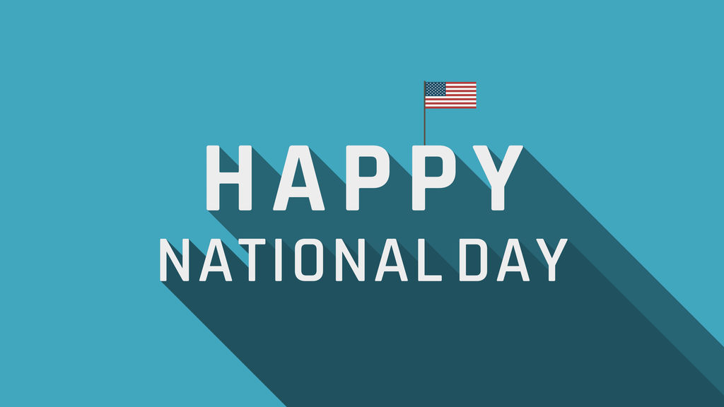 Happy National Day After Effects templates