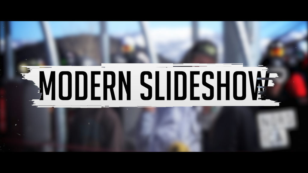 Modern Slideshow Project Premiere Pro Template