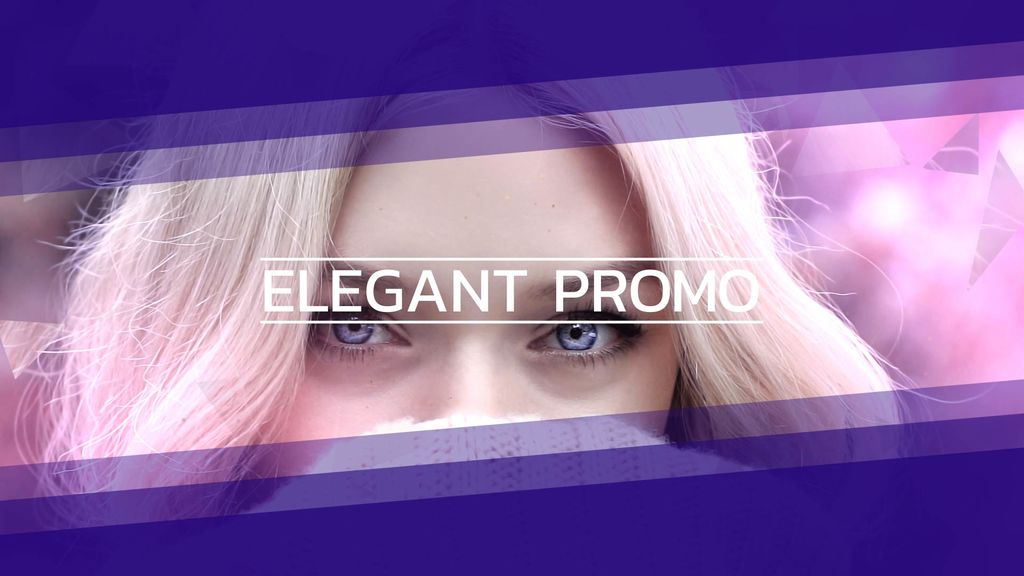 Elegant Promo CC After Effects templates
