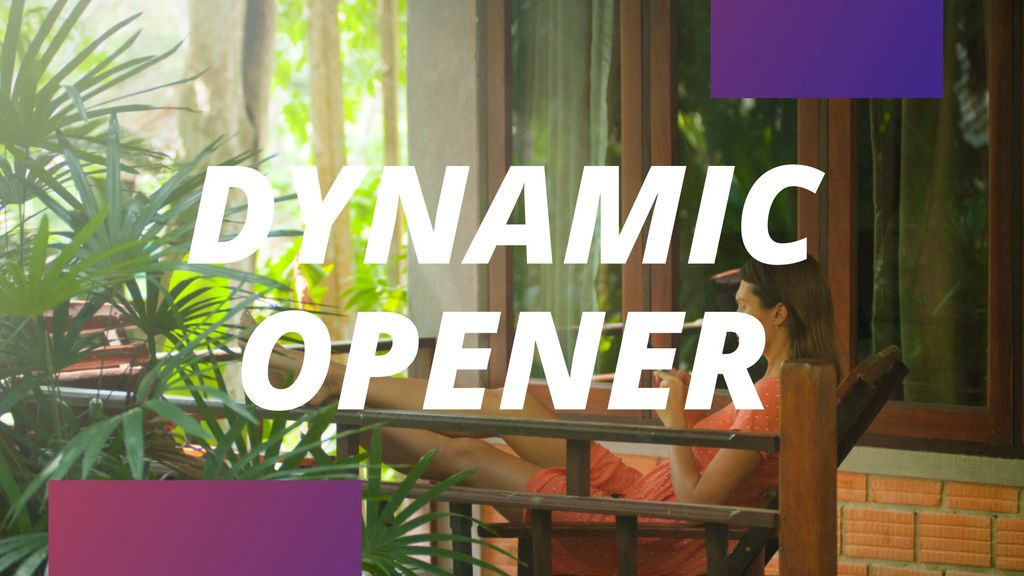 Fast Dynamic Opener After Effects templates
