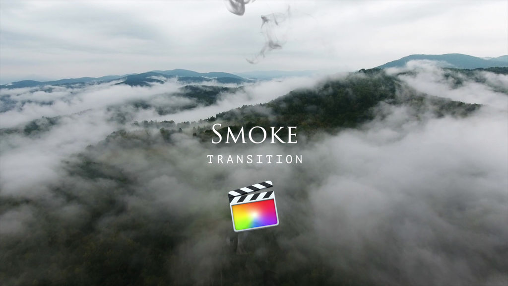 Smoke Transitions Apple Motion Templates