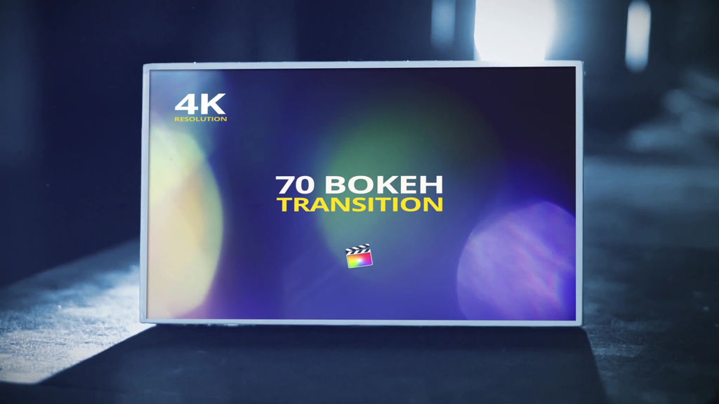 70 Bokeh Transition For Final Cut X Apple Motion Templates