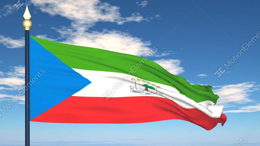Guinea Ecuatorial Flag
