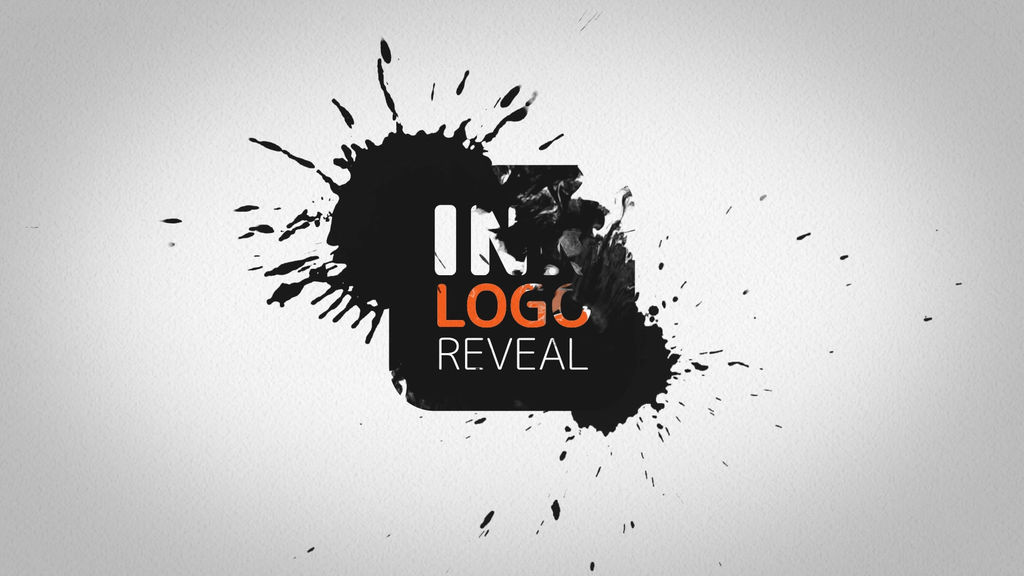 Ink Logo Reveal After Effects templates