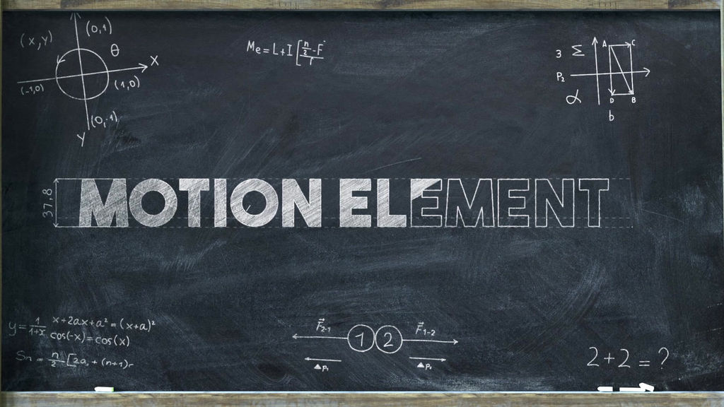 Chalkboard Math Logo After Effects templates