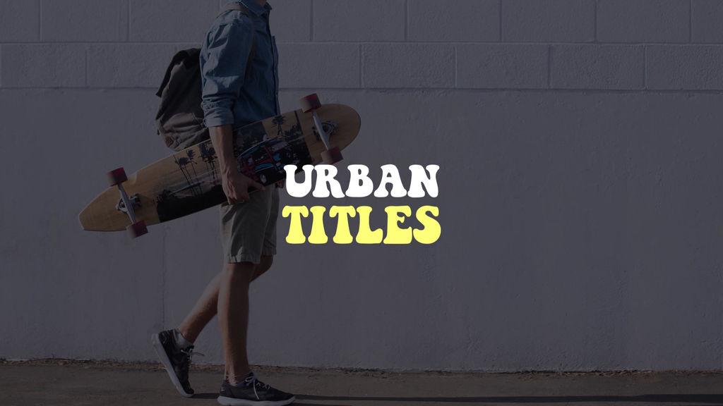 Urban Titles