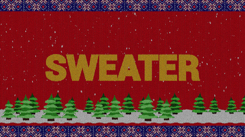Knitted Sweater Logo