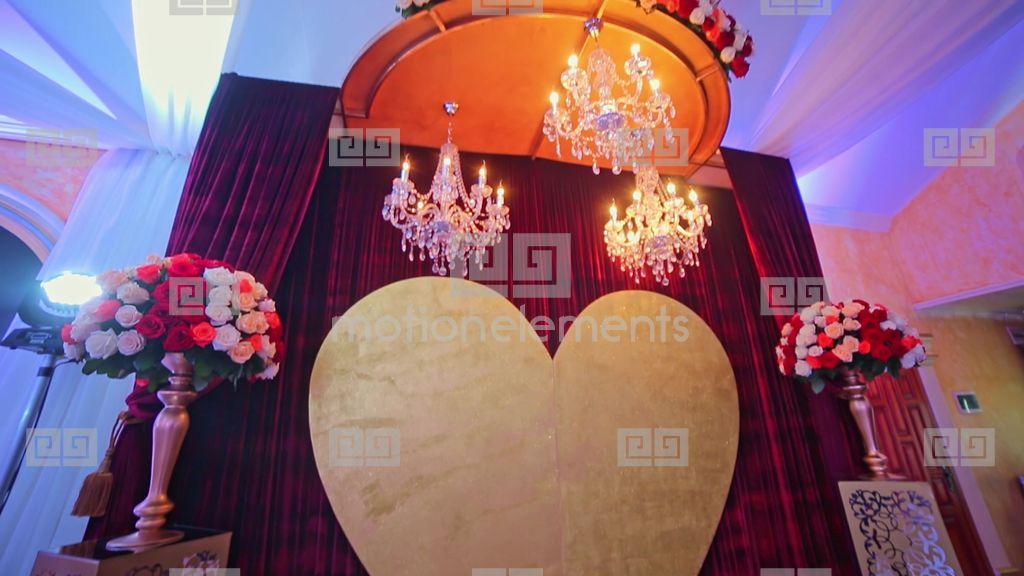 Wedding decoration photo zone flower heart stock video footage 9536619 wedding decoration photo zone flower heart stock video footage junglespirit Gallery